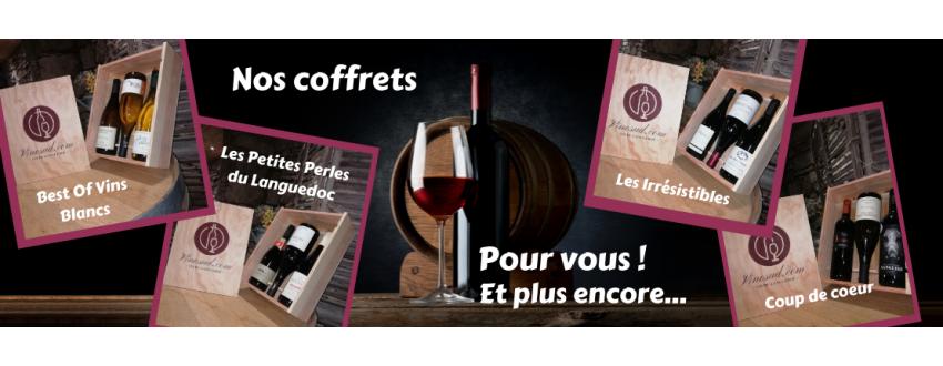 ACHAT - Coffrets cadeaux Vins - Vins du Languedoc